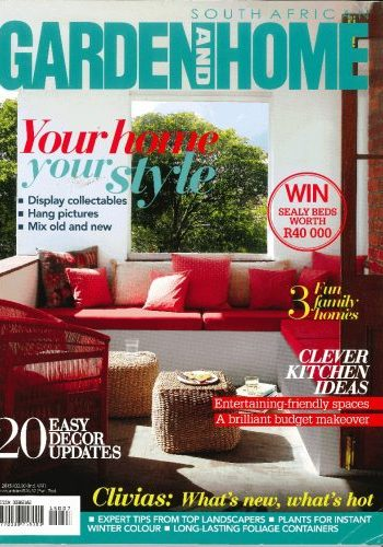Front Page July 2015 Garden and Home
