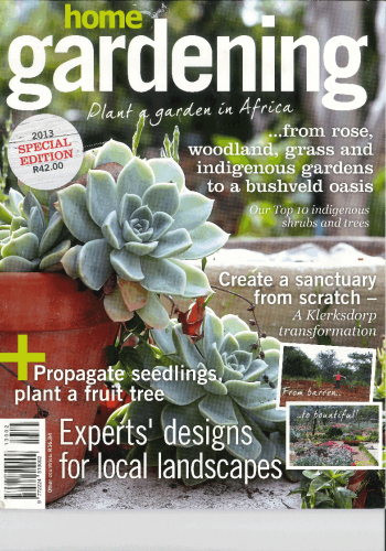 Front Page 2013 Home Gardening